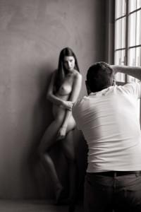 Teaching art nude workshop at ellestudio, Neuchâtel, Switzerland