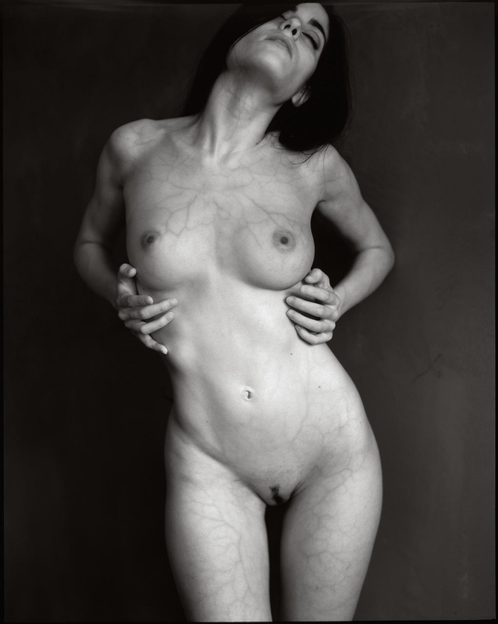 Infrared art nude female body photography by Fabien Queloz, ElleStudio Switzerland